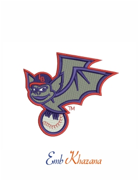 Louisville Bats baseball team logo