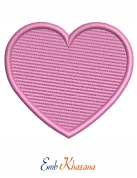 Love Sign Embroidery File