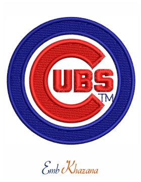 chicago cubs bear mlb logo