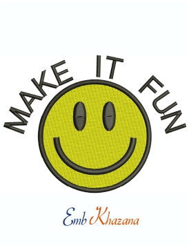 Make It Fun Machine Embroidery Design