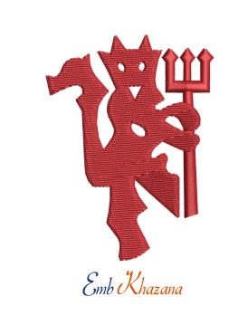 Manchester United Red Devil Logo