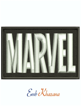 Marvel Logo Machine Embroidery Design