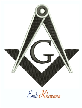 Masonic ritual and symbolism Machine Embroidery Design