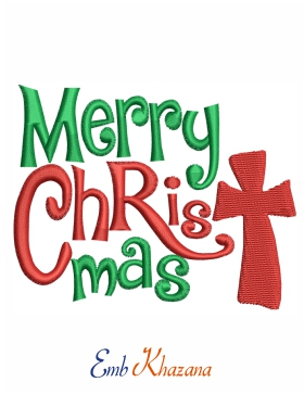 Merry Christmas Letters Design