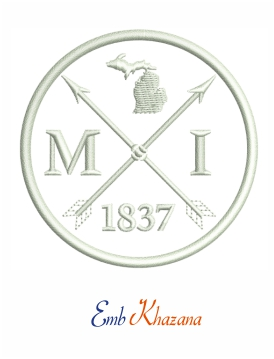 Michigan Arrow 1837 logo