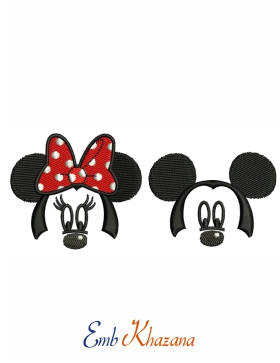 Minnie Mickey Mouse Face