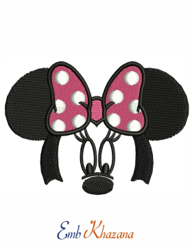 Minnie Face Design