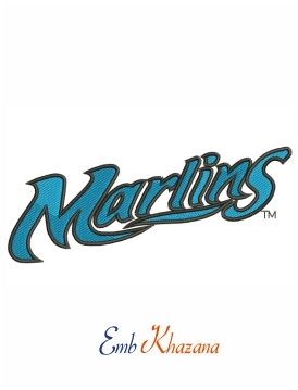 Morehead City Marlins Wordmark Logo