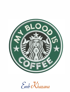 my blood is coffee