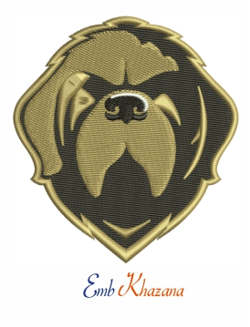 Newfoundland Growlers Logo embroidery design