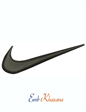 Nike Original Logo machine embroidery design