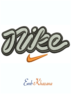 Nike Logo Design Evolution Machine Embroidery Design