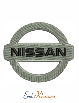 Nissan Car Logo Embroidery