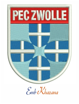 PEC Zwolle Embroidery Design