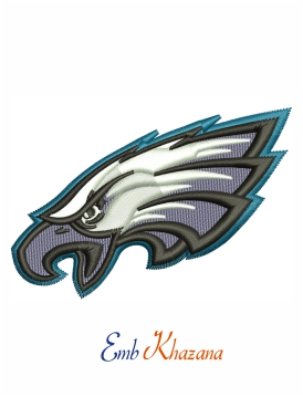 Philadelphia Eagles embroidery design
