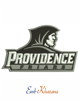 Providence Friars College embroidery design