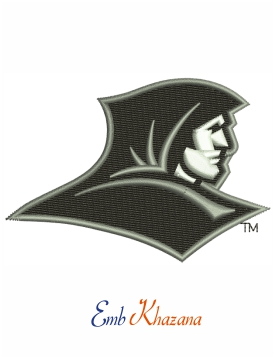 Providence Friars logo embroidery design