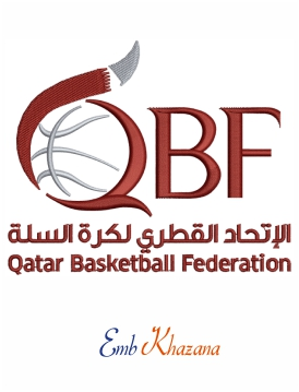 Qatar Basketball Logo