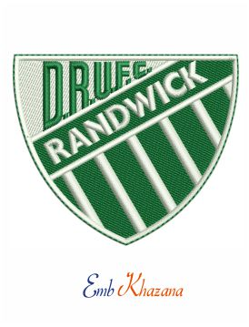 Randwick Rugby Logo Embroidery Design