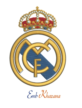 Real Madrid Football Club Logo