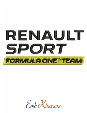 Renault sports F1 Team logo