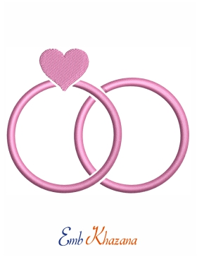 Ring With Heart Design