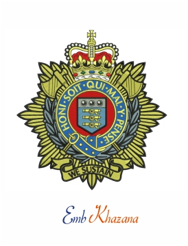 royal logistic corps badge