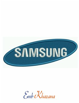 samsung logo Embroidery pattern