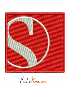Sauber embroidery logo