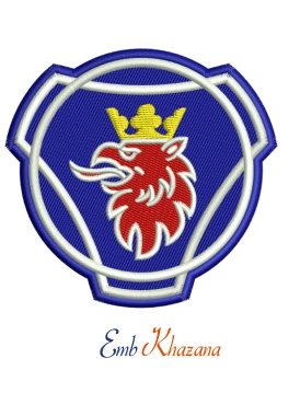 Scania Truck Logo Embroidery