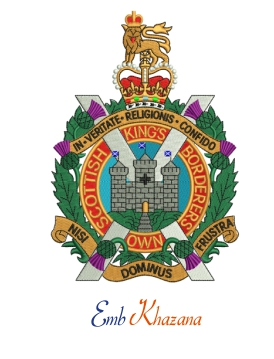 Kings Own Scottish Borderers Crest