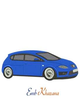 Seat Car Embroidery Design