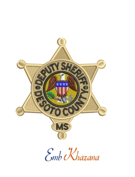 Sheriff And Deputy Crest