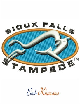Sioux Falls Stampede Primary Logo