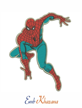 marvel spiderman embroidery design