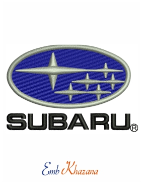 subaru car logo Embroidery