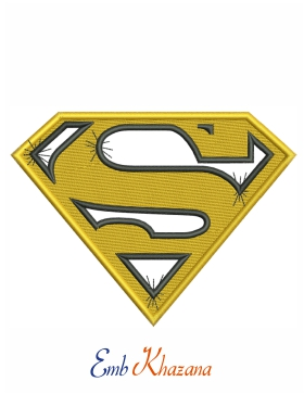 superman yellow logo