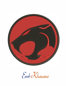 Thundercats Logo Machine Embroidery Design