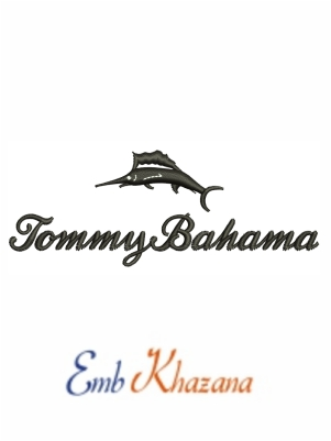 Tommy Bahama Embroidery Design