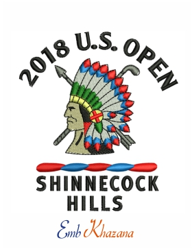 2018 US Open Championship Shinnecock Hills Golf logo