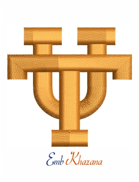 University of Tennessee logo machine embroidery design