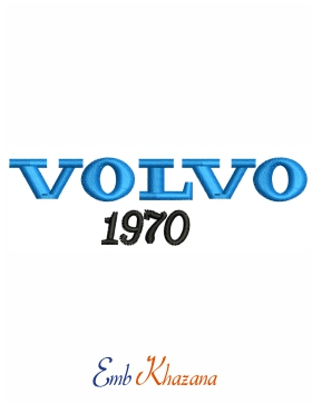 Volvo 1970 Car Logo