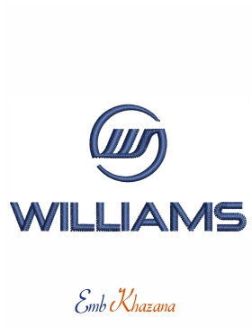 Williams Embroidery design logo
