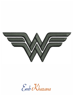 wonder woman black logo