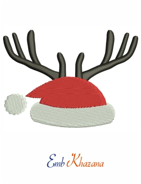 Cap With Antler