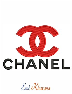 Chanel Logo Embroidery Pattern
