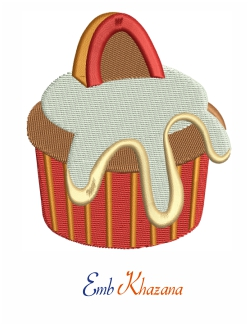 Cupcake Embroidery Files