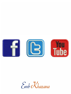 Facebook Twitter Youtube Logo