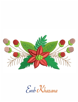 Flower Christmas Design