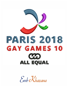 Gay Games Paris 2018 Logo